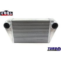 Intercooler TurboWorks 450x300x102 hátsó kivezetéssel